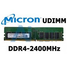 Memória 16GB MICRON MTA18ASF2G72AZ-2G3A1 DDR4-2400Mhz ECC UDIMM PC4-19200T-E