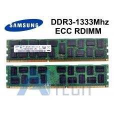 Memória 8GB Samsung M393B1K70CH0-CH9 DDR3-1333MHz PC3-10600R ECC REGISTERED DIMM 2Rx4