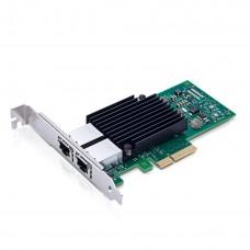 Placa de Rede Intel X550-T2 10Gbits 2 Portas PCI-e x4 RJ45